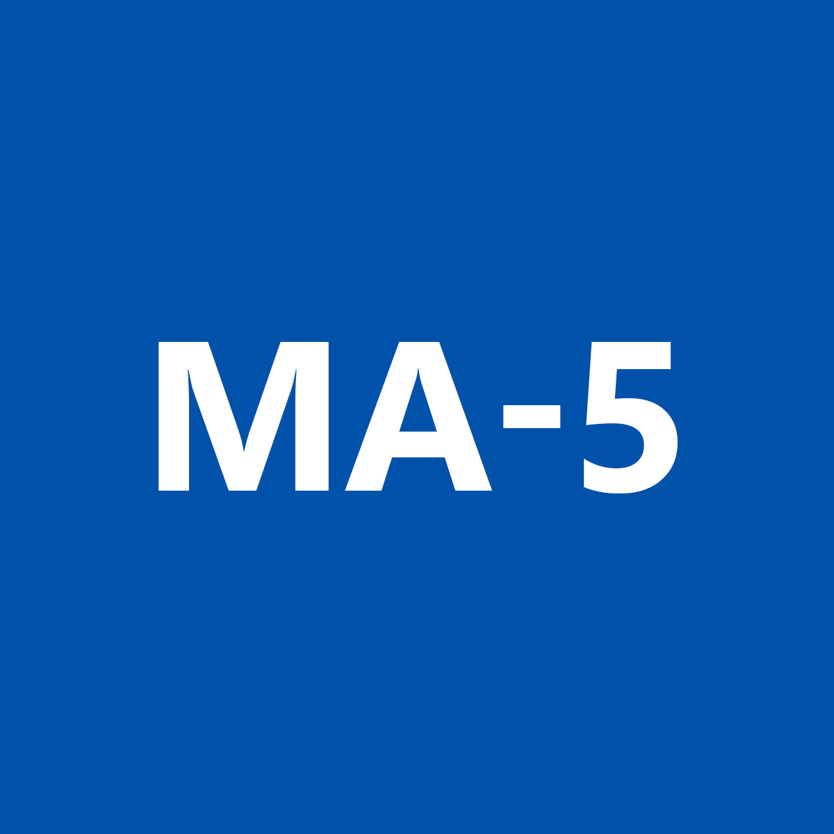 MA5 Mobile Menu
